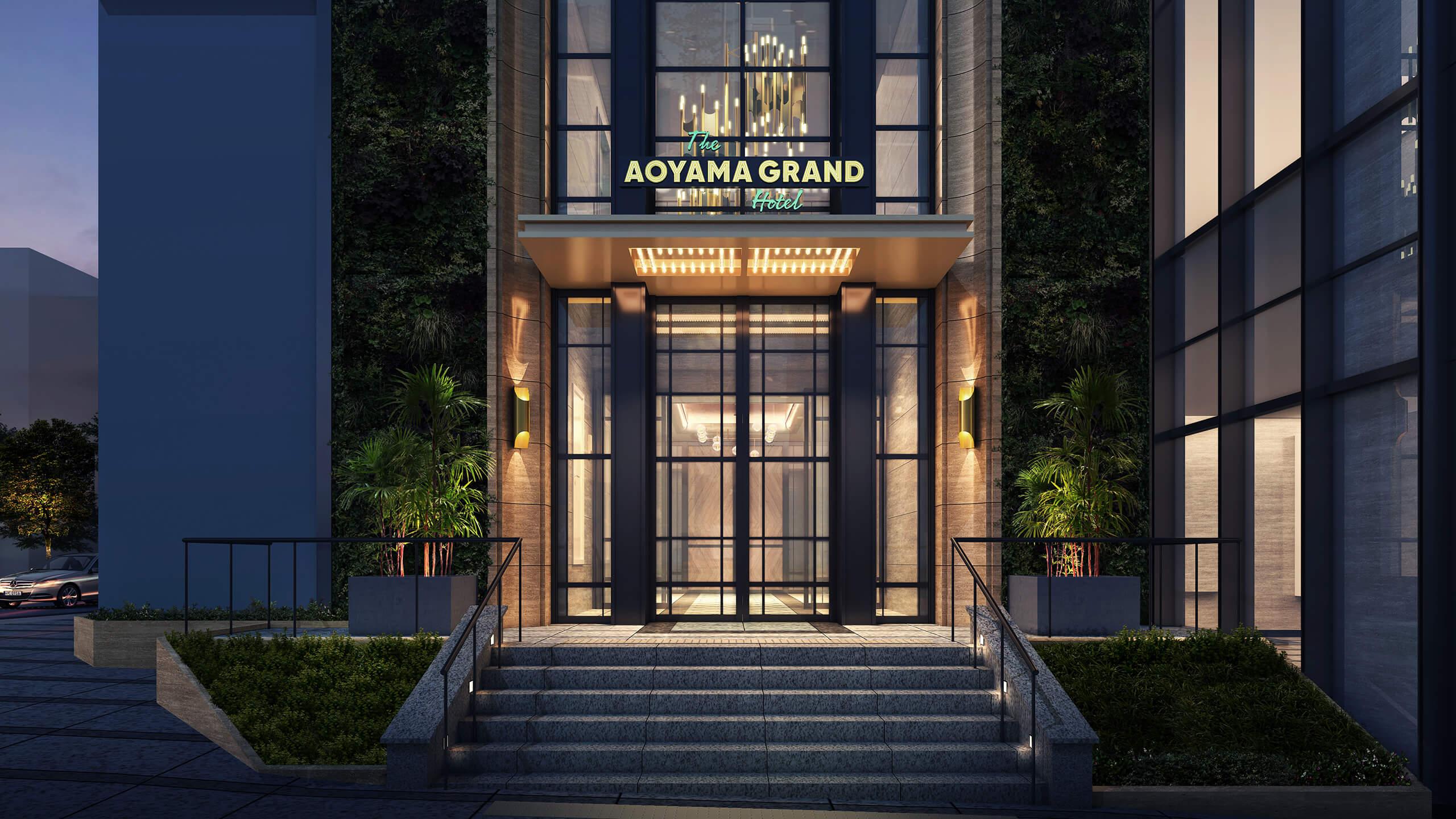 写真:THE AOYAMA GRAND HOTELの外観