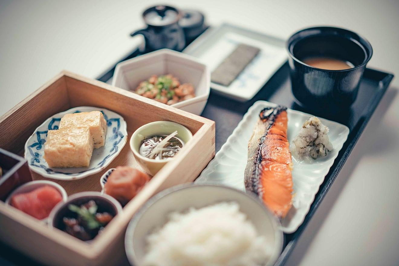 写真:ザ ベルコモの朝食